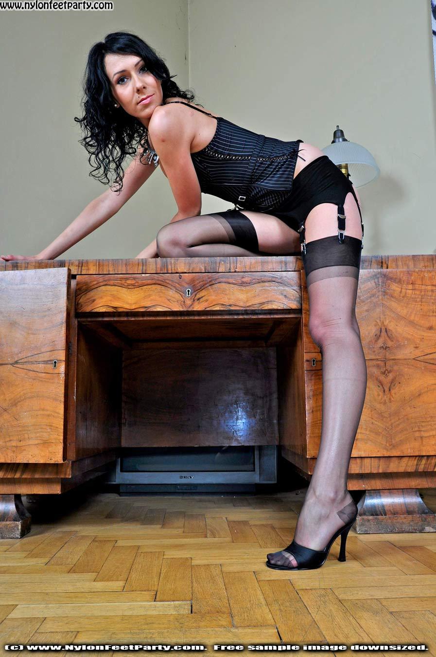 Nice Nylon Fetish Stocking Sex Sexy Stockings Pantyhose