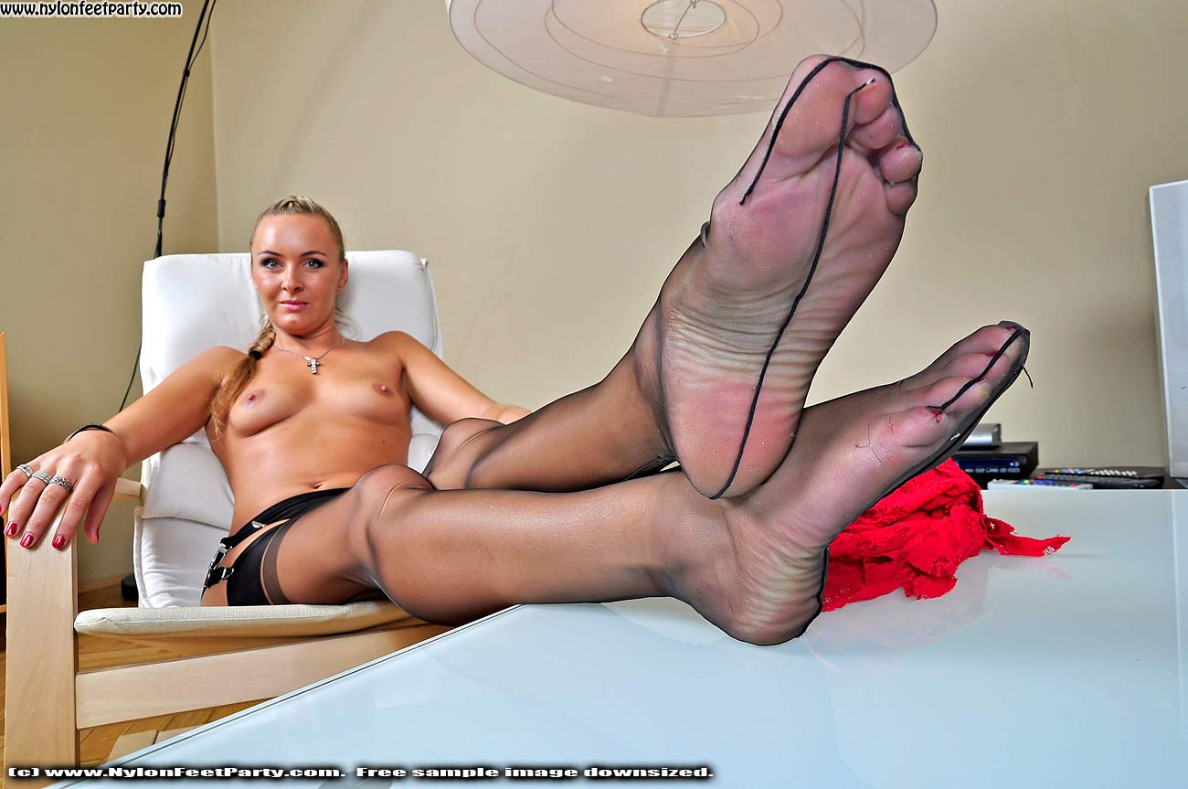 Nylon stocking footjob galleries what necessary