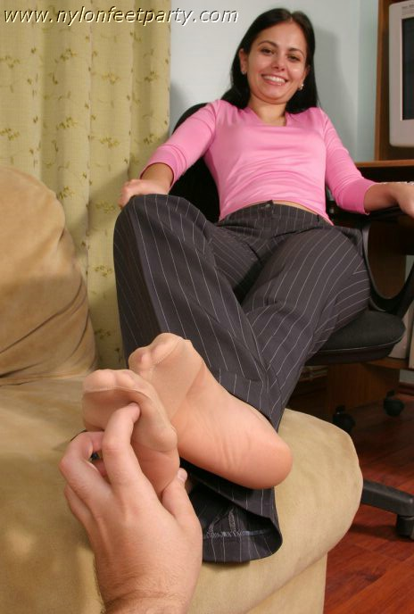 pantyhose tickle